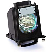 Ahlights 915P061010 Replacement Lamp with Housing For Mitsubishi TV