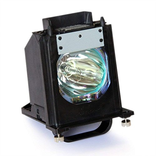 Ahlights 915P061010 Replacement Lamp with Housing for Mitsubishi TV, Black ()
