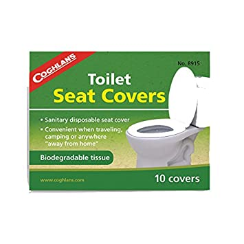 Remarkable Coghlans Toilet Seat Covers 10 Pieces Amazon Co Uk Caraccident5 Cool Chair Designs And Ideas Caraccident5Info