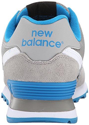 New Balance 574 Core, Scarpe da Ginnastica Uomo Grigio