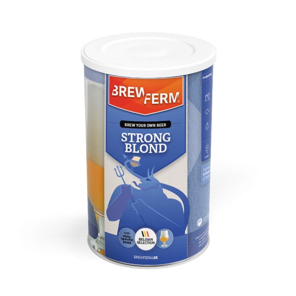 Brewferm Strong Blond - Juego de cerveza