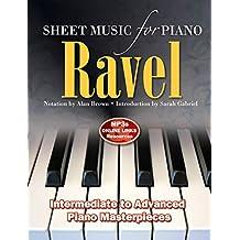Ravel: Sheet Music for Piano