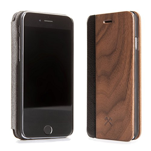 WOODCESSORIES EcoFlip Business iPhone 7 noce + pelle