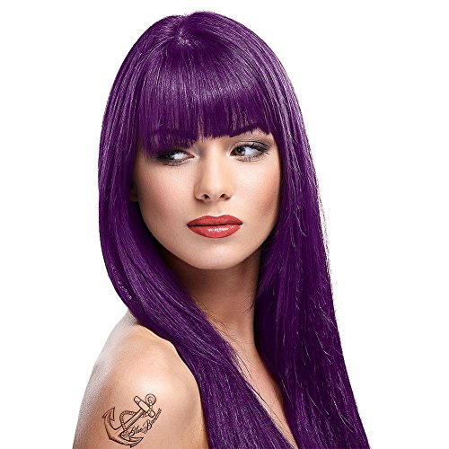La Riche Directions Colour Hair Dye X2 88ml (Plum) (Best Plum Hair Dye Uk)