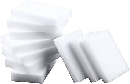 Mirray 100Pcs Lot Eraser Magic Melamine Cleaning Sponge 10x6x2CM