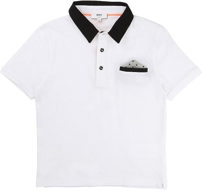 Hugo Boss Kids Boys Short Sleeve Polo Shirt