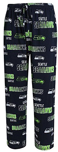 Seattle Seahawks Mens Navy Sweep Pajama Pants by Concepts Sports