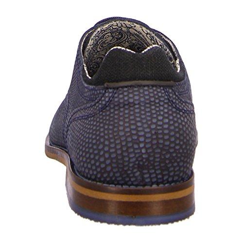 BULLBOXER 615K24783FP476 - Zapatos de cordones de Piel para hombre Azul - p476