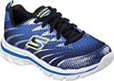Skechers Boys' Nitrate Training Shoe,Royal/Black,US 2 W
