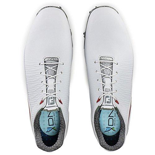 Footjoy Mens Dna 2,0 Wit / Rood