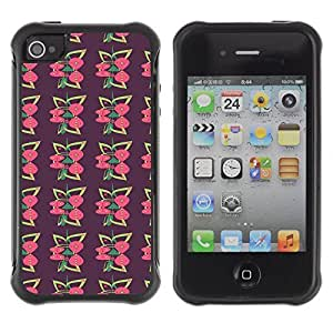 Travers-Diy FlareStar Colour Printing cute pattern Heavy Duty Armor Shockproof Cover QJzw2INT64S Rugged case cover for Apple iPhone 4 / iPhone 4S