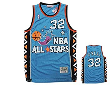 Image Unavailable. Image not available for. Colour  1996 All Star 32  Shaquille O Neal Teal Hardwood Classics Jersey ... ab52ceaa0
