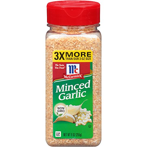 (McCormick Minced Garlic, 9 oz )