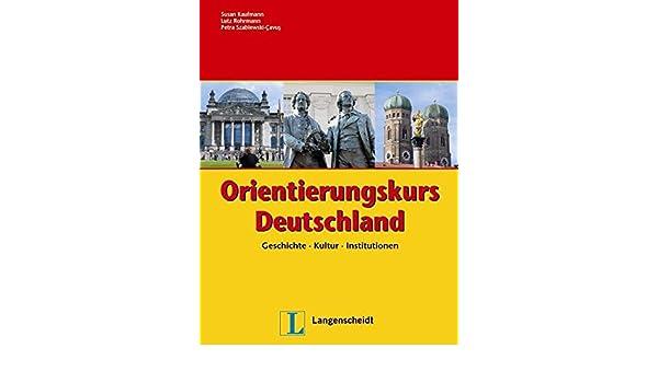 Amazon.com: Orientierungskurs Deutschland: Kaufmann: Health & Personal Care