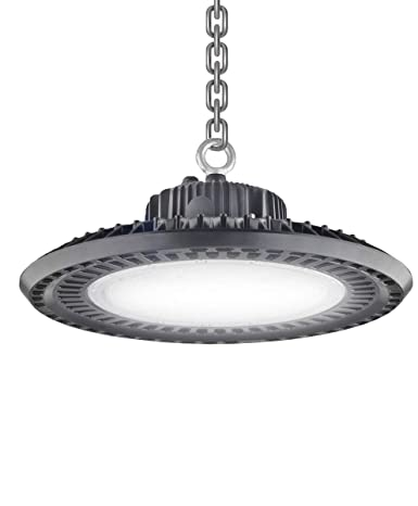 De Power 200w Led Ufo High Bay Light Fixture 26 000lm 5000k Ip65 Rated Waterproof Energy Efficient Dlc Etl Listed 5 Years Warr For Factory Warehouse