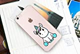 iPhone 6 6S Case ,Cute Unicorn Pattern on Soft TPU Silicone Protective Skin Ultra Slim & Clear with Funny Design Gift Bumper Back Cover for iPhone 6/6s,baby unicorn