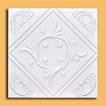 """50pc of Anet White (20""""x20"""" Foam) Ceiling Tiles - Covers about 135sqft"""