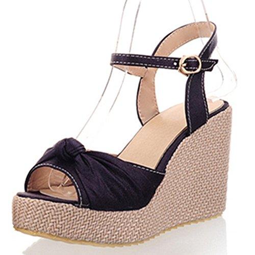 Fashion Heel - Zapatos de tacón  mujer morado
