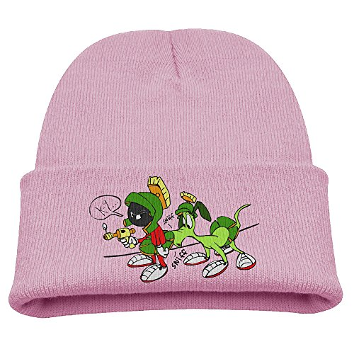 Babala Martian And Rabbit Child Knitted Beanie Cap Hat Winter Hats Solid Color Beanie (Zombie Converse)