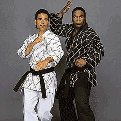 Century Black Martial Arts Karate Uniform with Belt Medium