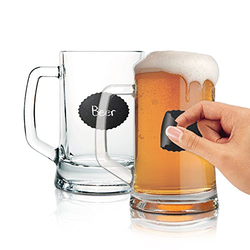 Beer, Coffee, or Soup Mugs to Personalize with Handle - 23 Oz. Each (Dishwasher Safe) (Two Handle Soup Mug)