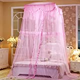 Fine,Princess Wind Dome Ceiling Mosquito Nets/Simple,Fashion Double Home,Ceiling Mosquito Net/European Court To Increase The Mosquito Bed-F G