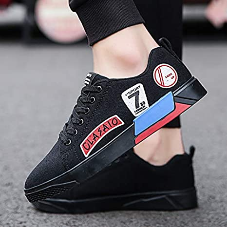 NANXIEHO Autumn and Winter Breathable Leisure Shoes Canvas Shoes Trend Small White Shoes Mens Shoes Student White Sneakers Men