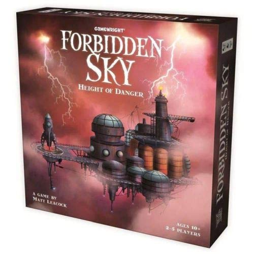Island Desert Winds - Gamewright Forbidden Sky - Height of Danger