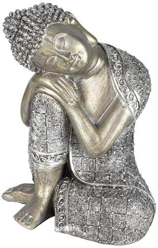 Sleeping Buddha Silver 9 1/4
