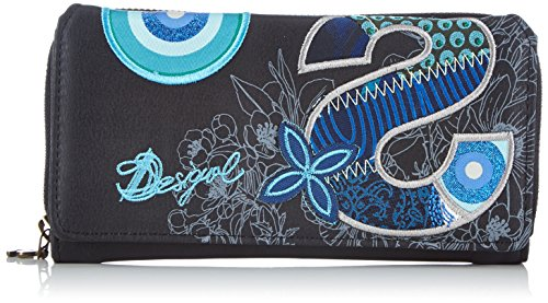 Desigual Maria S Patch Wallet - After Dark - One Size
