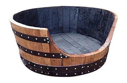 hand-crafted-solid-oak-wood-whisky-barrel-wooden-cask-unique-large-dog-bed