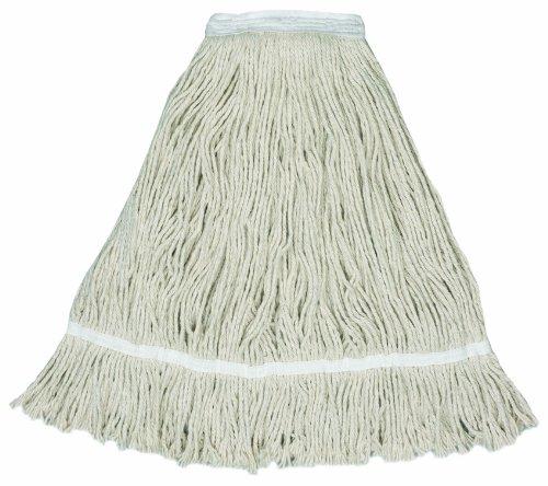 Mop Continental Natural (Wilen A207132, US Cotton Leader Fan Mop, 32-Ounce, 1-1/4