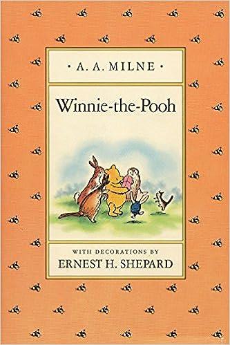 winnie the pooh a a milne ernest h shepard 9780525444435