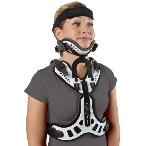 Minerva Orthosis Cervical Thoracic Halo Brace-S/M by Cybertech Medical