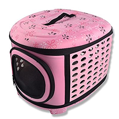 380042a998d4 Pet Eva Dog Rabbit Cat Travel Tote Portable Handbag Folding Crate ...