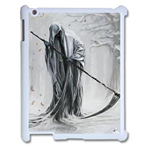 C-EUR Cover Case Grim Reaper customized Hard Plastic case For IPad 2,3,4