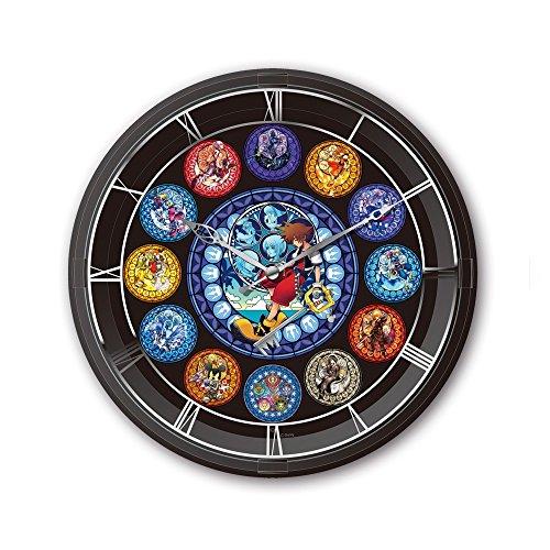 Kingdom Hearts - Lighting Clock (Clock Wall Heart)