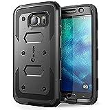 Galaxy S6 Case, [Armorbox] i-Blason built in [Screen Protector] [Full body] [Heavy Duty Protection ] Shock Reduction[Bumper Corner] for Samsung Galaxy S6 (Black)