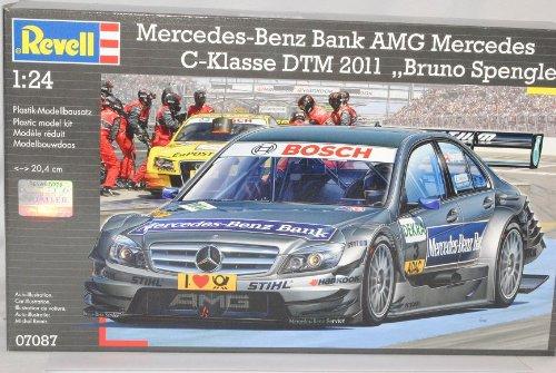 Revell Mercedes-Benz C-Klasse DTM Spengler Bruno Spengler DTM 2011 AMG 07087 Bausatz Kit 1/24 Modell Auto 3f37f1