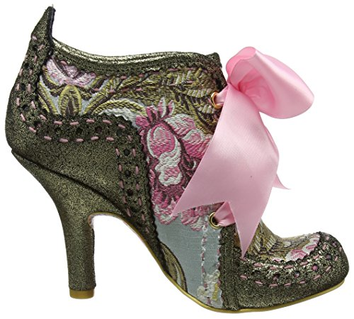 Irregular Choice Abigail's Third Party - Botas Mujer Gold (Gold/Pink)