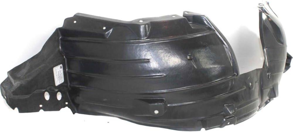 Splash Shield Front Left Side Fender Liner Plastic Sedan for Nissan Sentra 07-12 SR//SE-R//SE-R Spec V Models