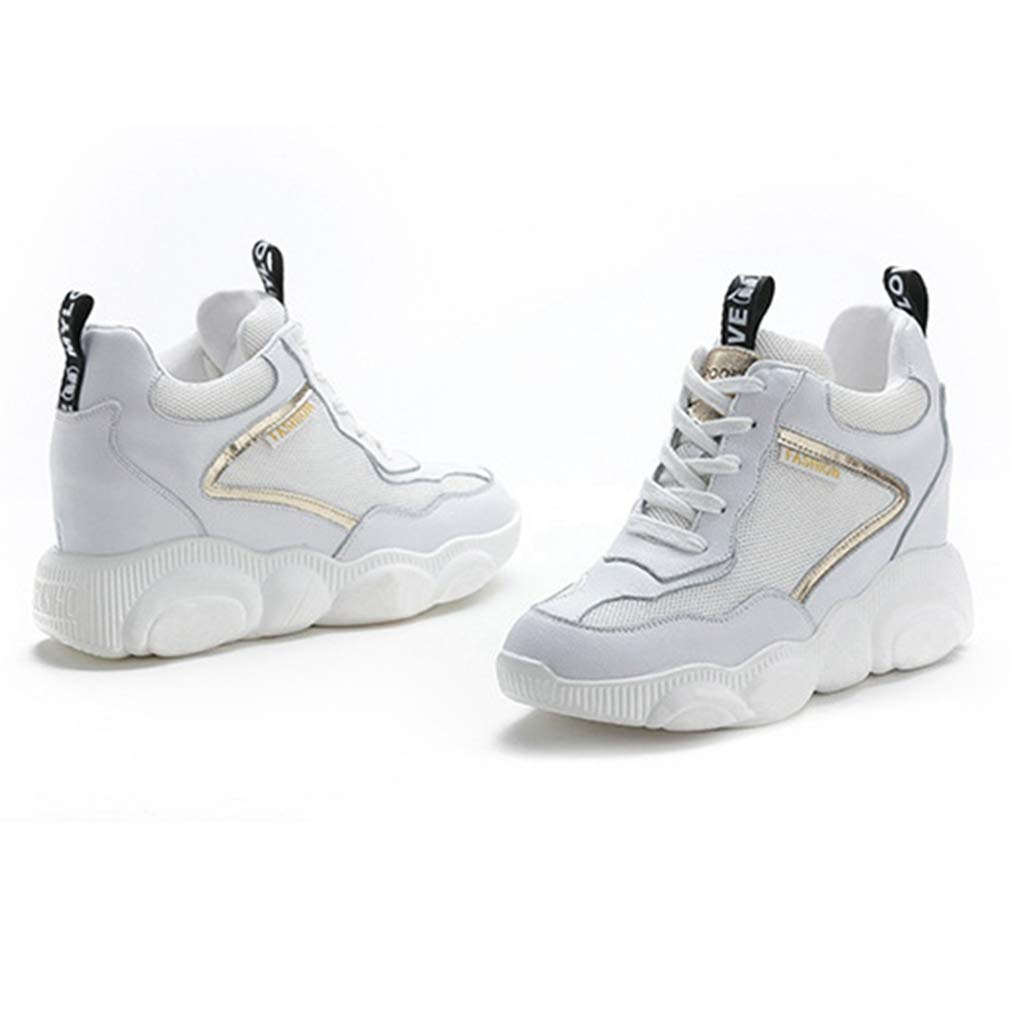 Womens Casual Platorm Walking Running Shoes Fashion Hip Top Athletic Fitness Gym Sport Sneakers
