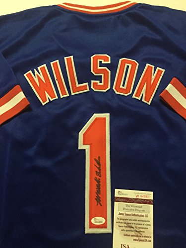 Signed New York Mets Jersey - 1