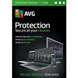 AVG Protection - Unlimited Devices - 1 Year (PC Software)