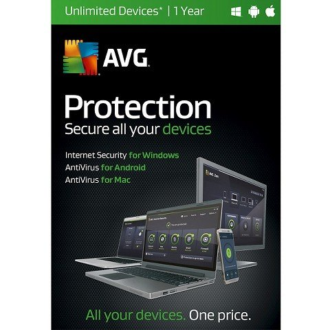 AVG Protection Unlimited Devices Software