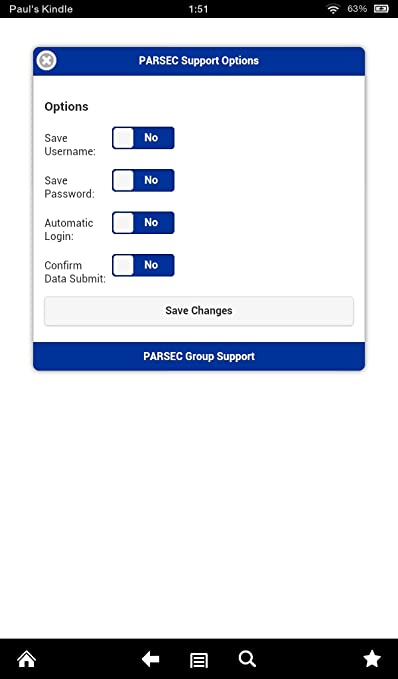 Amazon com: PARSEC Group Support: Appstore for Android