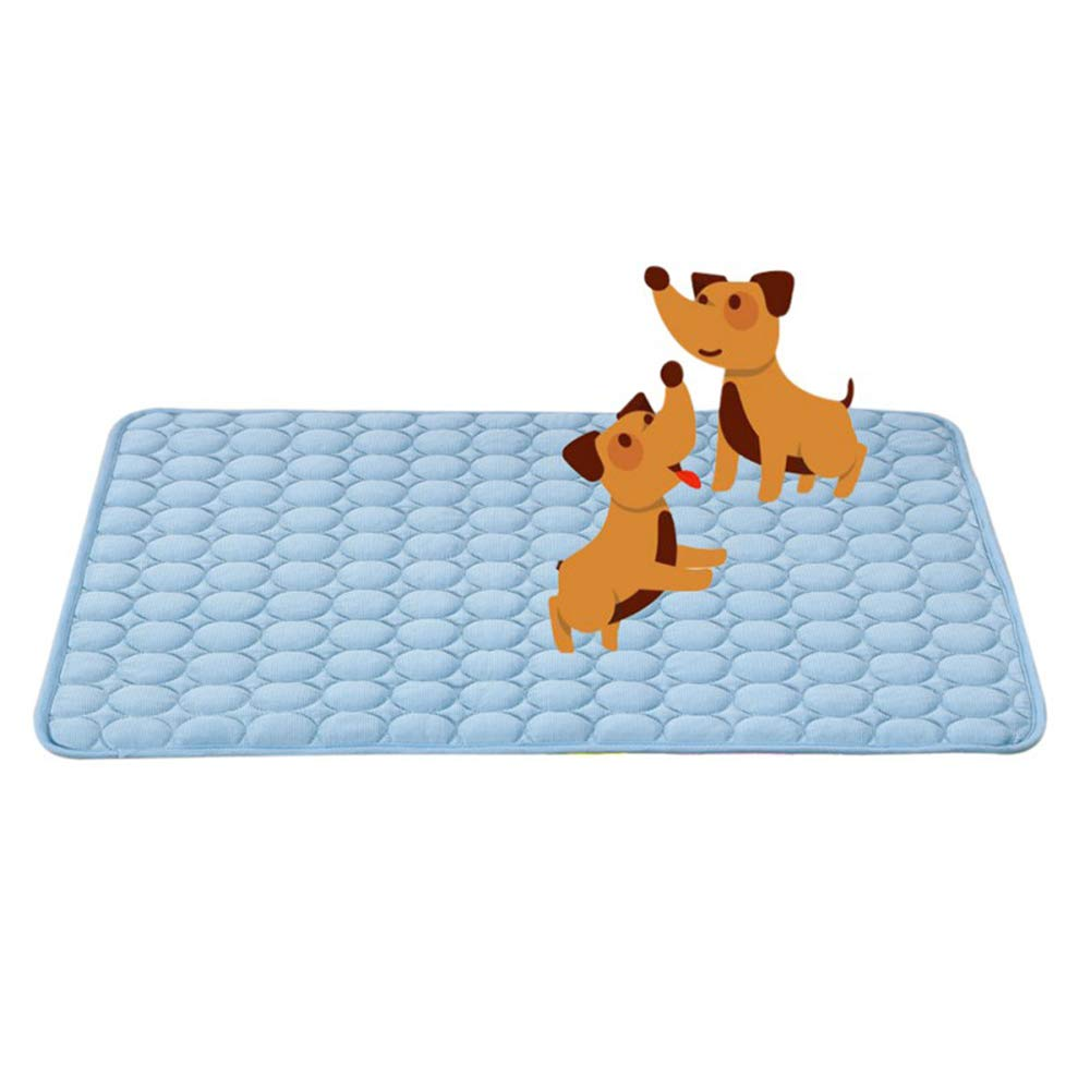 Large Pet Cool Mat,Dog Cooling Pad, Durable Soft and Ease, Great for Dogs Cats in Hot Summer,L