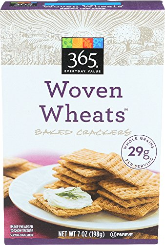 365 Everyday Value, Woven Wheats Baked Crackers, 7 oz