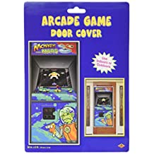Beistle 57091 1-Pack Arcade Game Door Cover, 30-Inch by 5-Feet