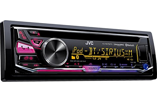 JVC Arsenal KD-R975BTS Single DIN CD Car Stereo Receiver with Bluetooth, Satellite Radio and Dual USB Inputs (Jvc Car Remote compare prices)